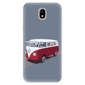 Silikonové odolné pouzdro iSaprio VW Bus na mobil Samsung Galaxy J5 2017