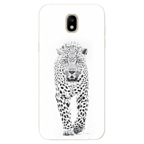 Silikonové odolné pouzdro iSaprio White Jaguar na mobil Samsung Galaxy J5 2017 (Silikonový odolný kryt, obal, pouzdro iSaprio White Jaguar na mobil Samsung Galaxy J5 (2017))