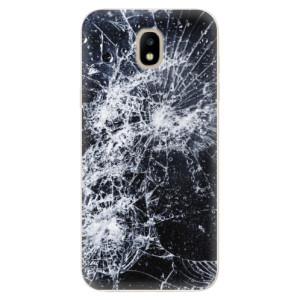 Silikonové odolné pouzdro iSaprio Cracked na mobil Samsung Galaxy J5 2017