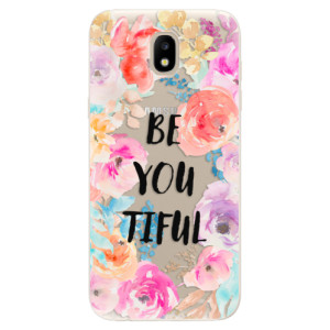Silikonové odolné pouzdro iSaprio BeYouTiful na mobil Samsung Galaxy J5 2017