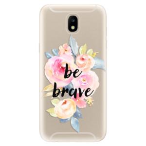 Silikonové odolné pouzdro iSaprio Be Brave na mobil Samsung Galaxy J5 2017
