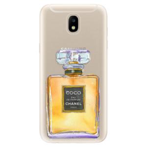 Silikonové odolné pouzdro iSaprio Chanel Gold na mobil Samsung Galaxy J5 2017
