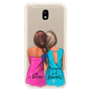 Silikonové odolné pouzdro iSaprio Best Friends na mobil Samsung Galaxy J5 2017