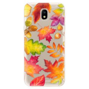 Silikonové odolné pouzdro iSaprio Autumn Leaves 01 na mobil Samsung Galaxy J5 2017