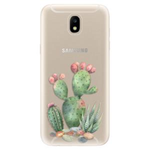 Silikonové odolné pouzdro iSaprio Cacti 01 na mobil Samsung Galaxy J5 2017