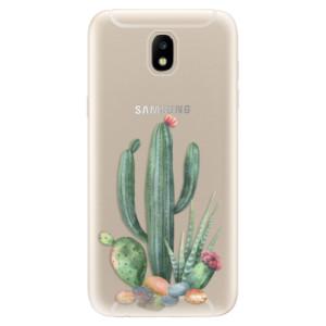 Silikonové odolné pouzdro iSaprio Cacti 02 na mobil Samsung Galaxy J5 2017