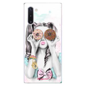 Silikonové odolné pouzdro iSaprio Donuts 10 na mobil Samsung Galaxy Note 10