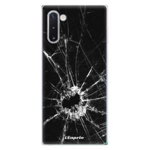 Silikonové odolné pouzdro iSaprio Broken Glass 10 na mobil Samsung Galaxy Note 10