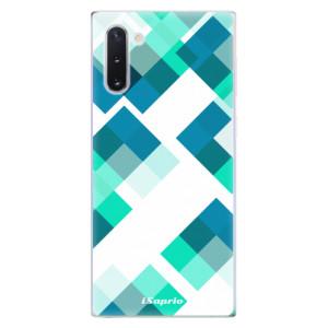 Silikonové odolné pouzdro iSaprio Abstract Squares 11 na mobil Samsung Galaxy Note 10