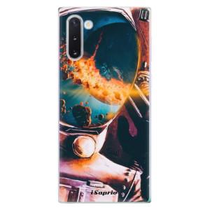 Silikonové odolné pouzdro iSaprio Astronaut 01 na mobil Samsung Galaxy Note 10
