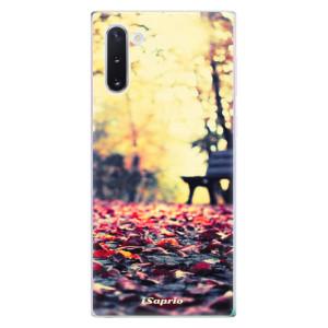 Silikonové odolné pouzdro iSaprio Bench 01 na mobil Samsung Galaxy Note 10
