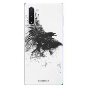 Silikonové odolné pouzdro iSaprio Dark Bird 01 na mobil Samsung Galaxy Note 10