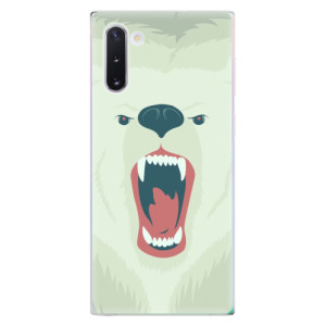Silikonové odolné pouzdro iSaprio Angry Bear na mobil Samsung Galaxy Note 10
