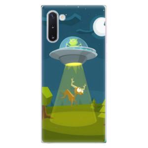Silikonové odolné pouzdro iSaprio Alien 01 na mobil Samsung Galaxy Note 10
