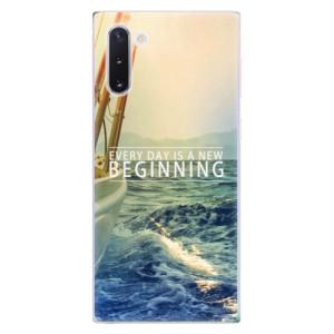 Silikonové odolné pouzdro iSaprio Beginning na mobil Samsung Galaxy Note 10
