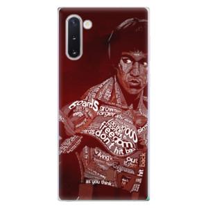 Silikonové odolné pouzdro iSaprio Bruce Lee na mobil Samsung Galaxy Note 10