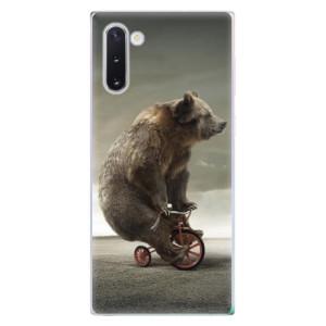 Silikonové odolné pouzdro iSaprio Bear 01 na mobil Samsung Galaxy Note 10