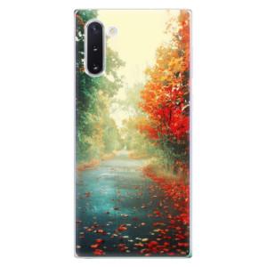 Silikonové odolné pouzdro iSaprio Autumn 03 na mobil Samsung Galaxy Note 10