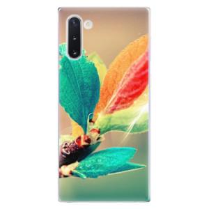 Silikonové odolné pouzdro iSaprio Autumn 02 na mobil Samsung Galaxy Note 10