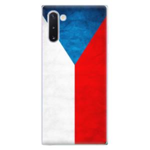 Silikonové odolné pouzdro iSaprio Czech Flag na mobil Samsung Galaxy Note 10