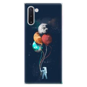 Silikonové odolné pouzdro iSaprio Balloons 02 na mobil Samsung Galaxy Note 10