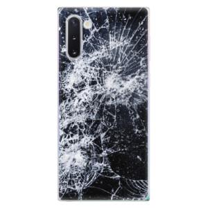 Silikonové odolné pouzdro iSaprio Cracked na mobil Samsung Galaxy Note 10