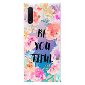 Silikonové odolné pouzdro iSaprio BeYouTiful na mobil Samsung Galaxy Note 10