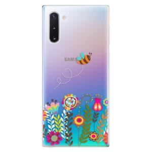 Silikonové odolné pouzdro iSaprio Bee 01 na mobil Samsung Galaxy Note 10