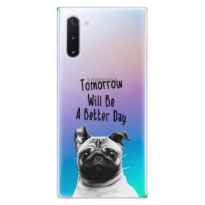 Silikonové odolné pouzdro iSaprio Better Day 01 na mobil Samsung Galaxy Note 10