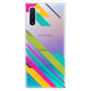 Silikonové odolné pouzdro iSaprio Color Stripes 03 na mobil Samsung Galaxy Note 10