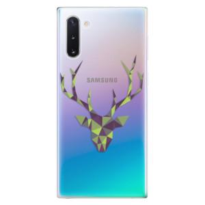 Silikonové odolné pouzdro iSaprio Deer Green na mobil Samsung Galaxy Note 10