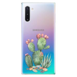 Silikonové odolné pouzdro iSaprio Cacti 01 na mobil Samsung Galaxy Note 10