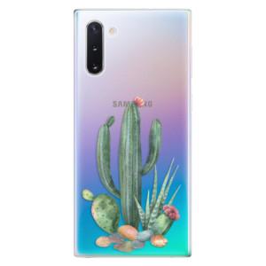 Silikonové odolné pouzdro iSaprio Cacti 02 na mobil Samsung Galaxy Note 10