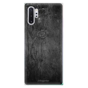 Silikonové odolné pouzdro iSaprio Black Wood 13 na mobil Samsung Galaxy Note 10 Plus