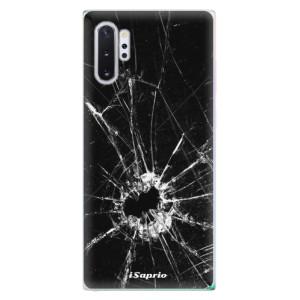 Silikonové odolné pouzdro iSaprio Broken Glass 10 na mobil Samsung Galaxy Note 10 Plus