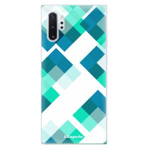 Silikonové odolné pouzdro iSaprio Abstract Squares 11 na mobil Samsung Galaxy Note 10 Plus