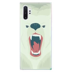 Silikonové odolné pouzdro iSaprio Angry Bear na mobil Samsung Galaxy Note 10 Plus