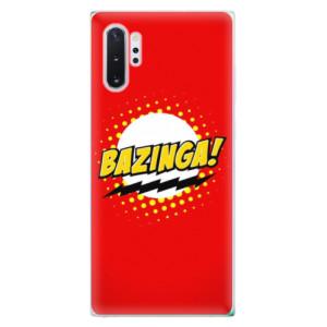 Silikonové odolné pouzdro iSaprio Bazinga 01 na mobil Samsung Galaxy Note 10 Plus