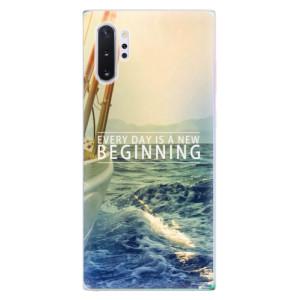 Silikonové odolné pouzdro iSaprio Beginning na mobil Samsung Galaxy Note 10 Plus