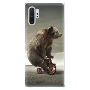 Silikonové odolné pouzdro iSaprio Bear 01 na mobil Samsung Galaxy Note 10 Plus