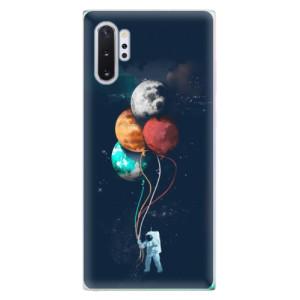 Silikonové odolné pouzdro iSaprio Balloons 02 na mobil Samsung Galaxy Note 10 Plus