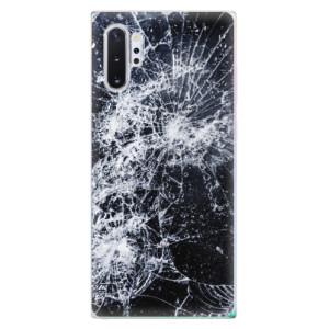 Silikonové odolné pouzdro iSaprio Cracked na mobil Samsung Galaxy Note 10 Plus