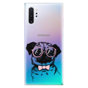 Silikonové odolné pouzdro iSaprio The Pug na mobil Samsung Galaxy Note 10 Plus