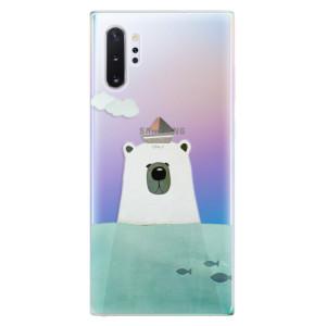 Silikonové odolné pouzdro iSaprio Bear With Boat na mobil Samsung Galaxy Note 10 Plus