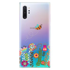 Silikonové odolné pouzdro iSaprio Bee 01 na mobil Samsung Galaxy Note 10 Plus