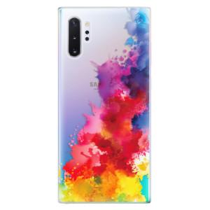 Silikonové odolné pouzdro iSaprio Color Splash 01 na mobil Samsung Galaxy Note 10 Plus