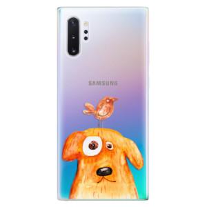 Silikonové odolné pouzdro iSaprio Dog And Bird na mobil Samsung Galaxy Note 10 Plus