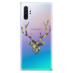 Silikonové odolné pouzdro iSaprio Deer Green na mobil Samsung Galaxy Note 10 Plus
