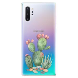 Silikonové odolné pouzdro iSaprio Cacti 01 na mobil Samsung Galaxy Note 10 Plus