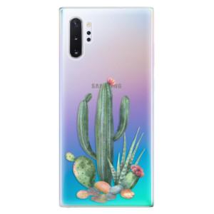 Silikonové odolné pouzdro iSaprio Cacti 02 na mobil Samsung Galaxy Note 10 Plus